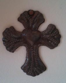S Metal Cross