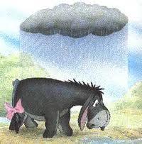 Eeyore Black Rain Cloud
