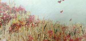 Autumn blowing grass KPS