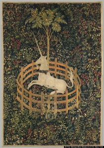 The Cloister's Unicorn Tapestries