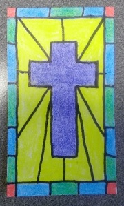 Stained Cross