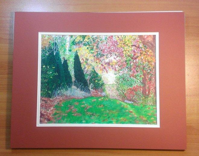 Autumn Path By Karen P. Simpson