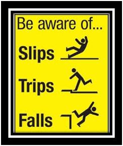 Beware Falling
