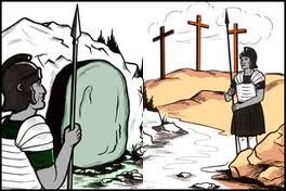 Gaurd Jesus Tomb